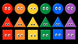 Shapes & Colors - The Kids' Picture Show (Fun & Educational Learning Video)
