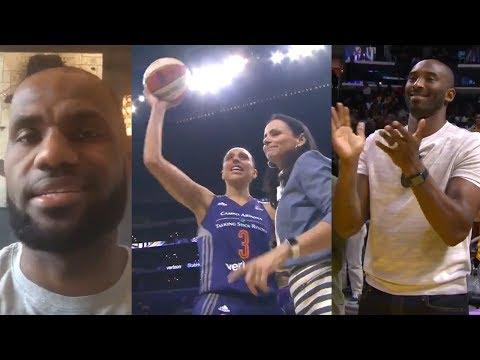 LeBron James, Kobe Bryant & More React to Diana Taurasi Becoming WNBA Leading All-Time Scorer