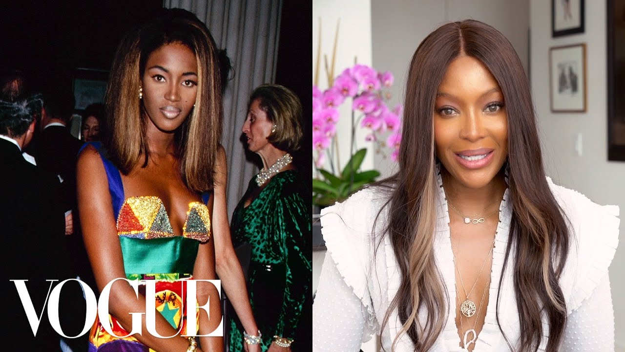 Naomi Campbell Breaks Down 13 Met Gala Looks From 1990 to Now | Life in Looks | Vogue
