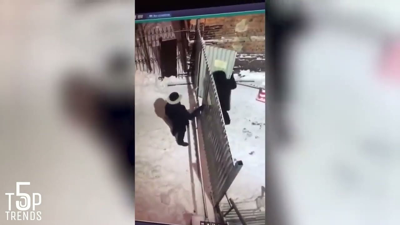 Download 40 WEIRDEST THINGS EVER CAUGHT ON SECURITY CAMERAS & CCTV!