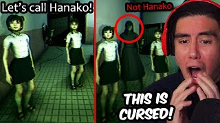 3 JAPANESE GIRLS TRY TO SUMMON A SPIRIT IN A BATHROOM..WHAT COULD GO WRONG?! | Hanako (Full Game)