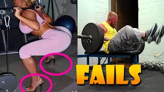 Workout Fails Compilation 💪 STUPID PEOPLE IN GYM FAIL 😁 Sport Fails 2021