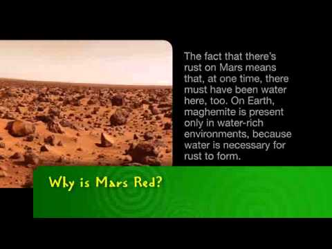 Bayer Msms Why Is Mars Red