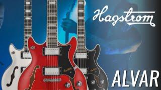 """Guitarra ALVAR de Hagstrom, el """"elfo guerrero"""". The swedish sound"""