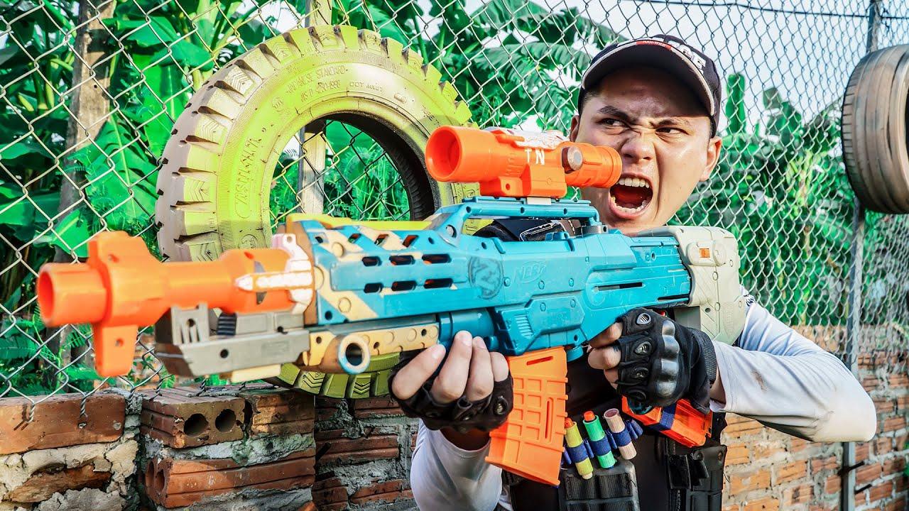 LTT Game Nerf War : Warriors SEAL X Nerf Guns Fight Criminal Group Mr Zero Crazy Justice Defenders