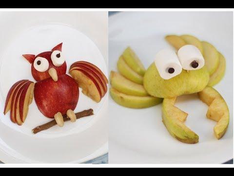 2 Fun Food For Kids ! Fruit art