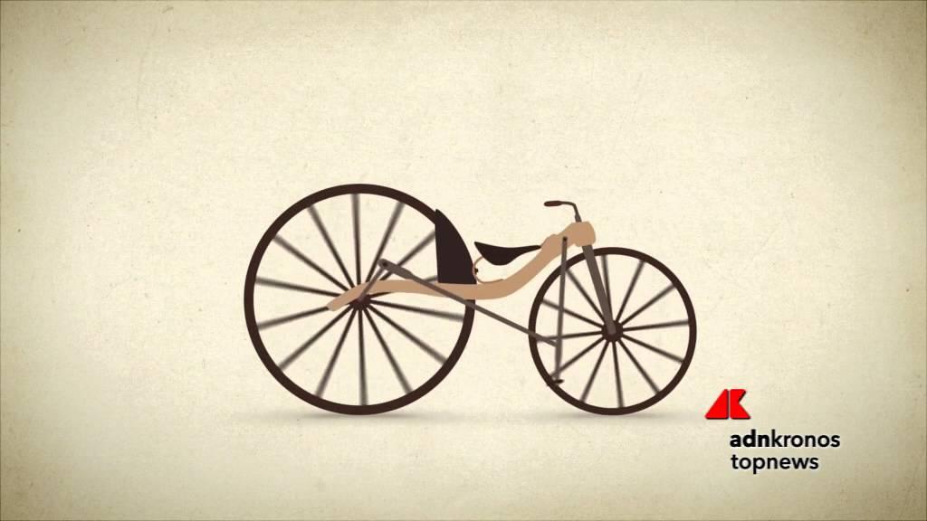 La Storia Della Bicicletta In Un Minuto