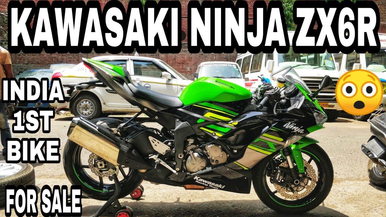 Kawasaki Ninja Zx6r For Sale Superbikes Bike Market Delhi Karol Bagh Bike Market Jd Vlogs Delhi