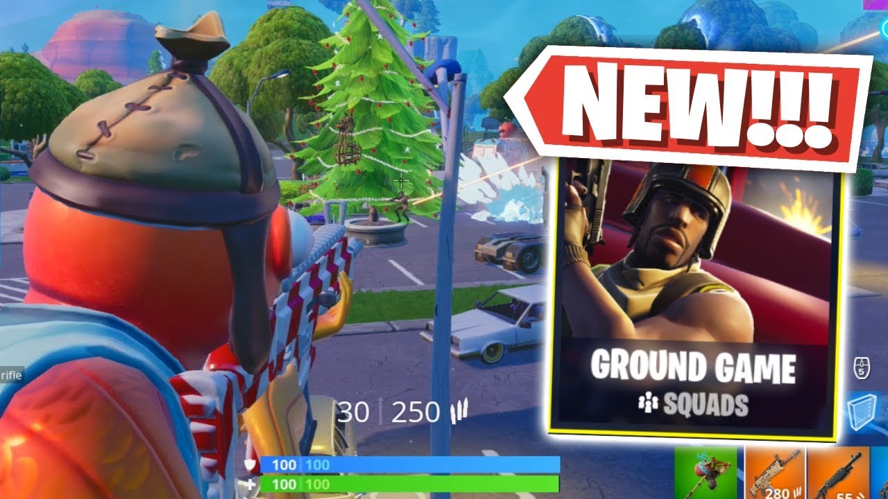 NEW  Fortnite Ground Game LTM Gameplay (Fortnite  Battle Royale) - Video  Más Popular 768479f35393