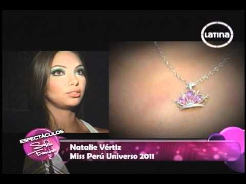 NATALIE VÉRTIZ RECLAMA SUS DERECHOS COMO MISS PERÚ UNIVERSO 2011