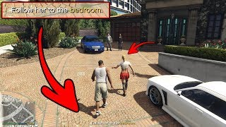 GTA 5 - HOT Date With Tracey! (Franklin and Tracey Mission)