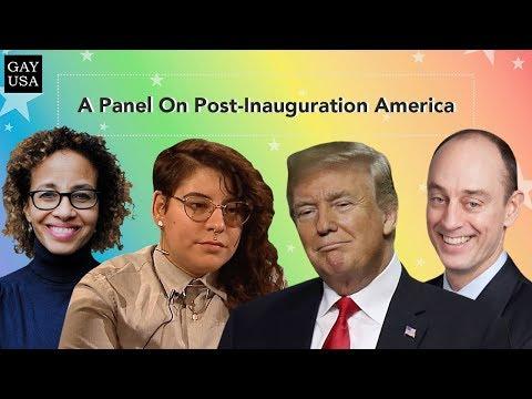 Gay USA: A Panel On Post-Inauguration America