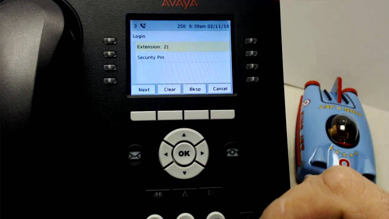 9611 Log In and Out Procedure Avaya IP Phone