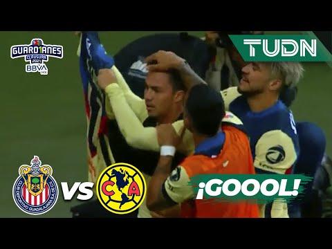 ¡Goleada! Qué gol de Córdova   Chivas 0-3 América   Torneo Guard1anes 2021 BBVA MX J11   TUDN