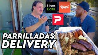 Probando Parrilladas de Delivery (pedidosya, Rappi, Ubet Eats)