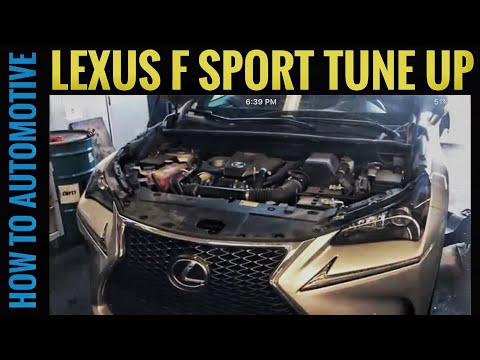 How to Replace Spark Plugs on a 2015 to Present Day Lexus NX 200t F Sport