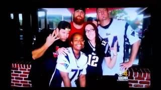 Houston Patriots Fans Featured on WBZ CBS Boston