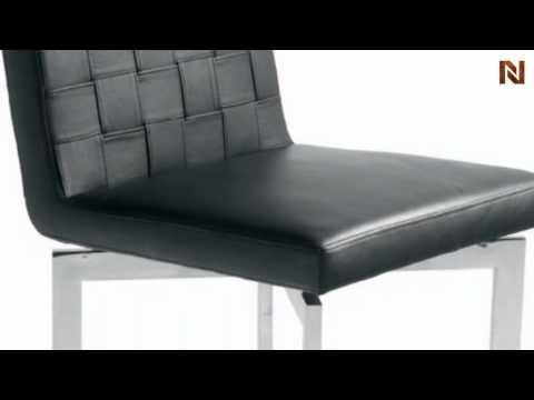 Constantine Dining Chair Black HGTA150 by Nuevo by Nuevo Living