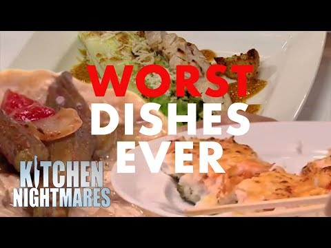 The WORST Ever Dishes On Kitchen Nightmares