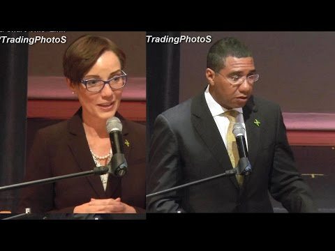 Jamaica Prime Minister Andrew Holness  Town Hall Meeting in Queens New York City USA 09/22/2016