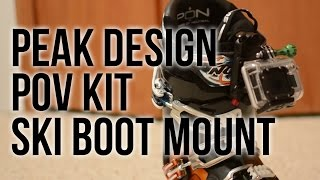 Peak Design POV Kit Ski Boot Mount: GoPro Tips and Tricks
