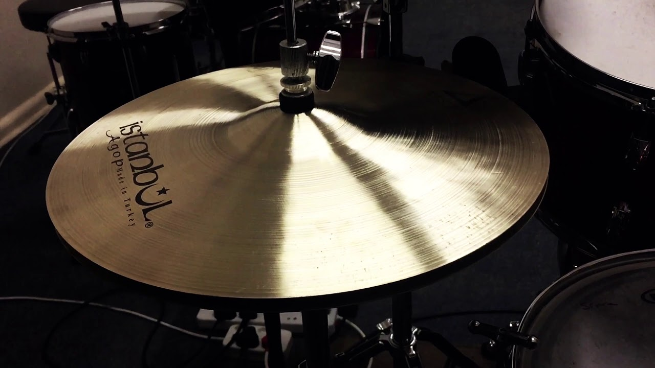 Zildjian 14 A Custom_VS_Istanbul Agop 14 Xist_Hi-Hat