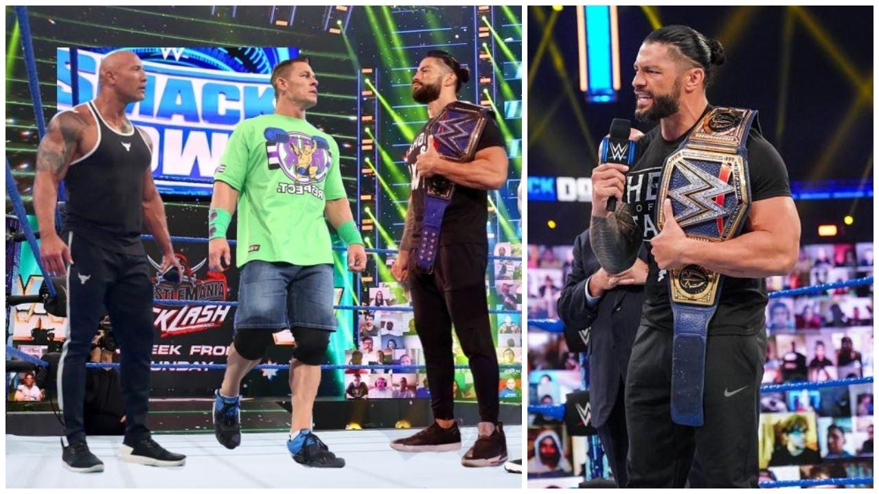 Roman Reigns WARNS John Cena & The Rock & Tell Them To Never RETURN To WWE |