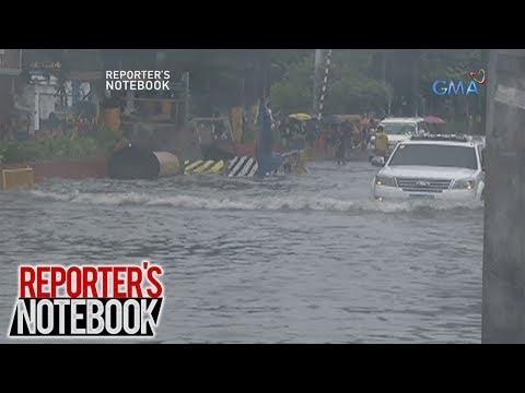 Reporter's Notebook: Bakit mabilis bumaha sa ilang lugar sa Metro Manila?