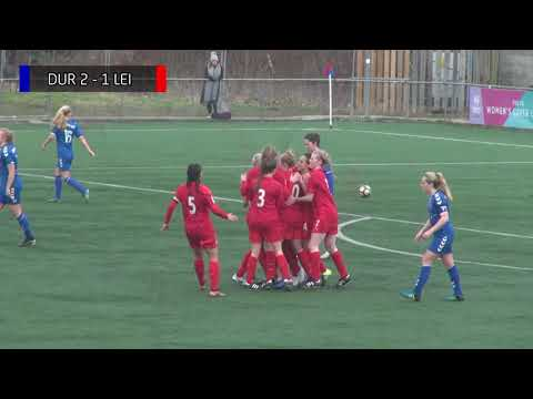 ALL THE GOALS: Durham 5-2 Leicester City