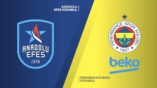 #EuroLeague 2. Hafta: Anadolu Efes - Fenerbahçe Beko