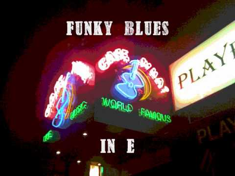 Funky 12 Bar Blues Backing Track in E
