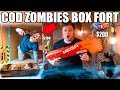 COD ZOMBIES BOX FORT CHALLENGE NERF Mini Game Mystery Box More mp3