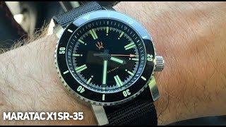 MARATAC X1 SR 35 Automatic Dive Watch Review - Under $300 !?