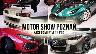 fast family 04 motor show poznań   infiniti q60 project black s   civic type r 2018   kickster
