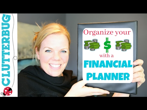 How to Organize your Money with a Financial Planner Binder