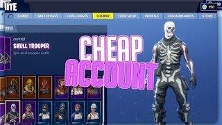 Vente de compte Fortnite; Skull Trooper, Black Knight, ect (Lire la description)