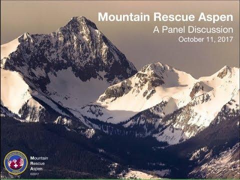 Mountain Rescue Aspen: Panel Discussion