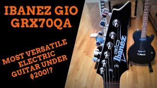 Ibanez GIO GRX70QA Sound Demo (no talking)