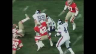 Mark Bavaro Carrying 49ers Defense