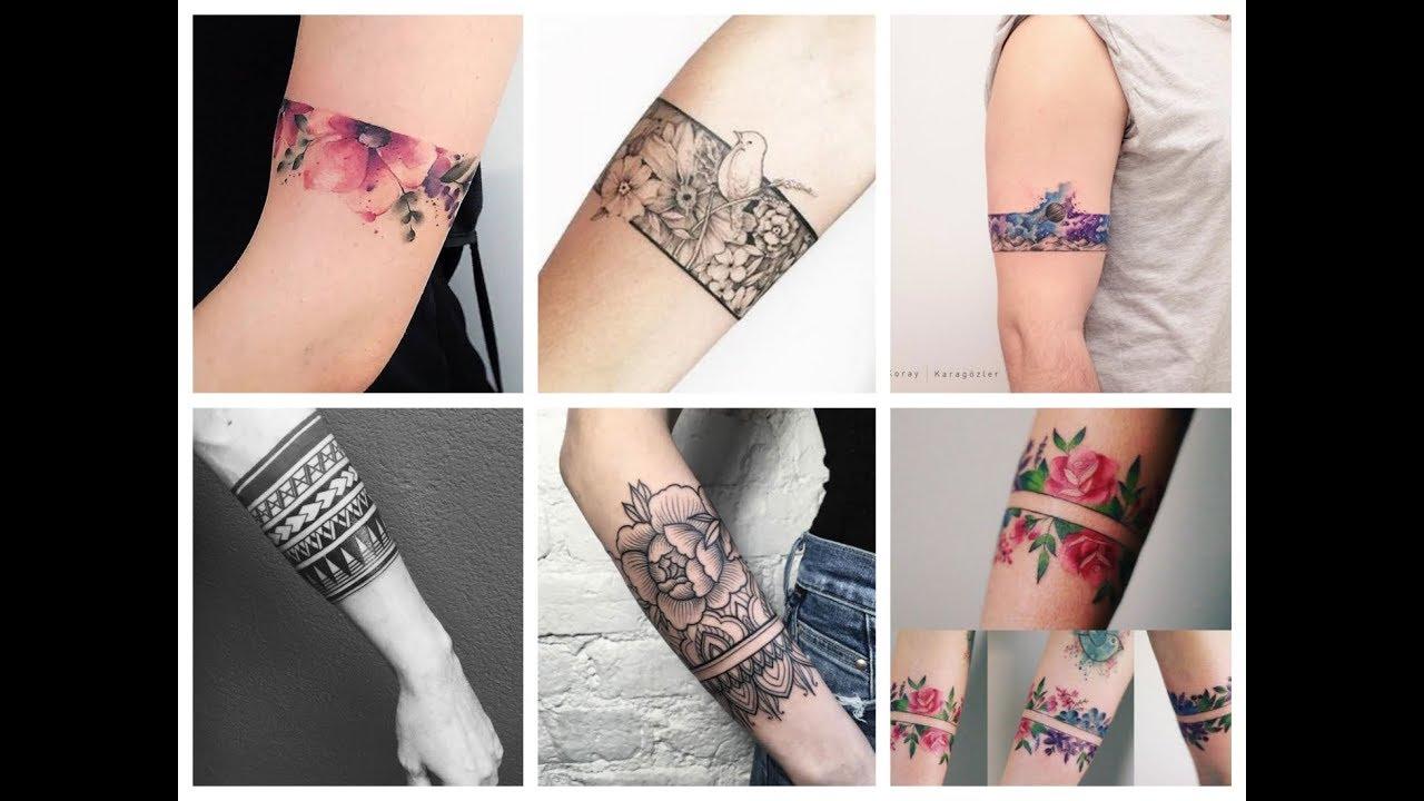 20+ Inspirational Armband Tattoo Design Ideas for Hands