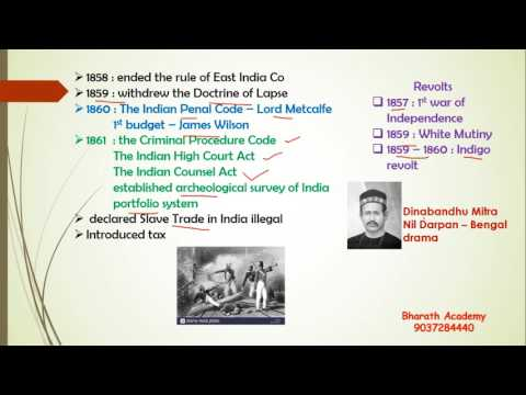 Modern Indian history- Viceroys Of British India Part 2