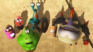 LAR-VENGERS - Larva | Crazy Cartoons | WildBrain Cartoons