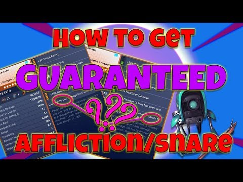How To Get Guaranteed Affliction/Snare WITHOUT WASTING LEGENDARY FLUX Fortnite Save The World