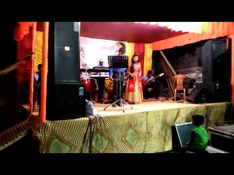 Diamond orchestra with singer payel