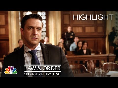 Law & Order: SVU - Barba Weaves His Web (Episode Highlight)