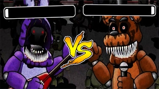 CLUTCHEST BONNIE VS FREDDY BATTLE! WHO WILL WIN? | Five Fights at Freddy