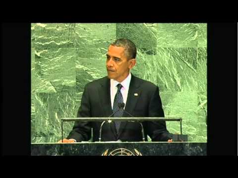 President Obama Comments On Israel And Palestine