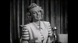 World War 2 Sweetheart Martha Tilton Sings