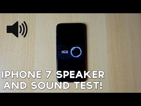 Apple iPhone 7 Speaker / Sound Test!