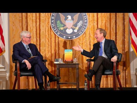 Brad Smith and Hugh Hewitt at the Nixon Library